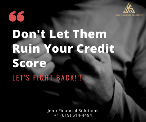 Don't Let Them Ruin Your Score … Let's Fight Back!!!
