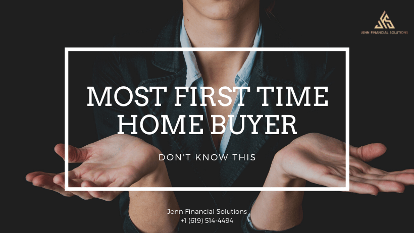 Most First Time Home Buyers Don't Know This